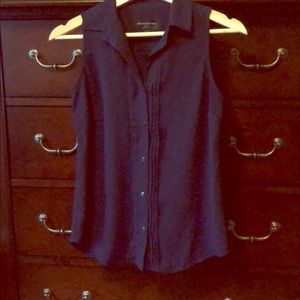 Banana republic blouse in navy